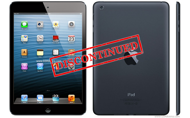 Apple zaprzestaje produkcji oryginalnego iPada mini