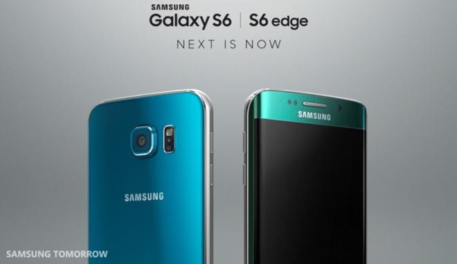 Samsung Galaxy S6 w odcieniu topazowym i Samsung Galaxy 6 Edge w odcieniu szmaragdowym są już dostępne